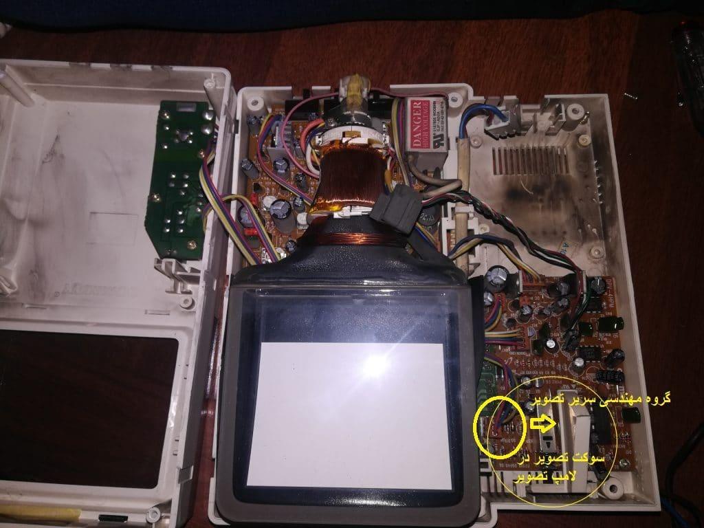 سوکت تصویر در تعمیرات ایفون تصویری سوزوکی